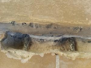 Sondage balcon état des aciers